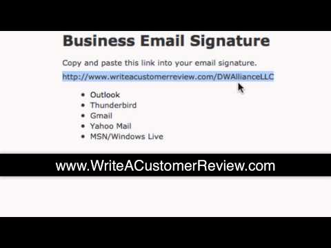 How to Email Signature for Thunderbird