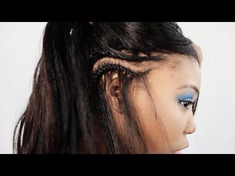 Tree Braids Step By Step Cornrow Hairstyle Tutorial Part 2