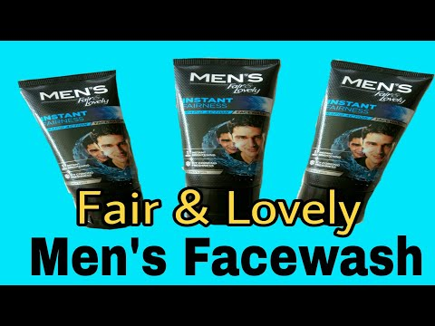 New Fair and Lovely Instant Fairness Face Wash for Men with RAPID ACTION