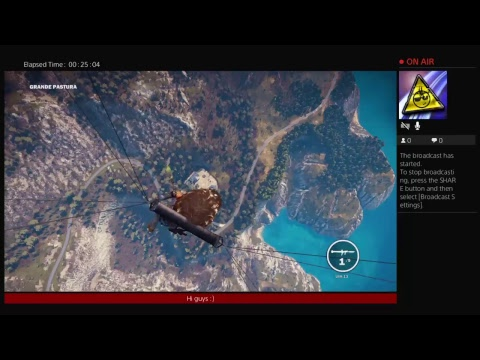 Just cause 3 easter egg (bobble gun)