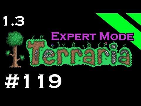 Let's Play Terraria 1.3 Expert Mode - Episode 119 - Spiral Staircase