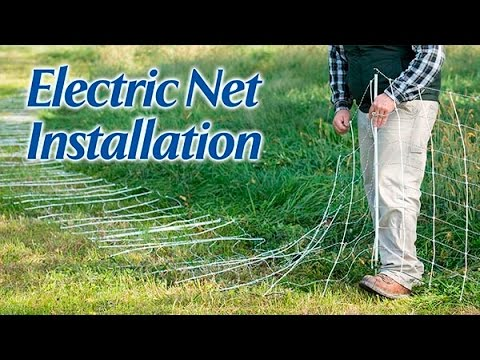 Electric Net Installation