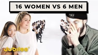 16 Waman COMPETE for 6 Guys (insane reaction)