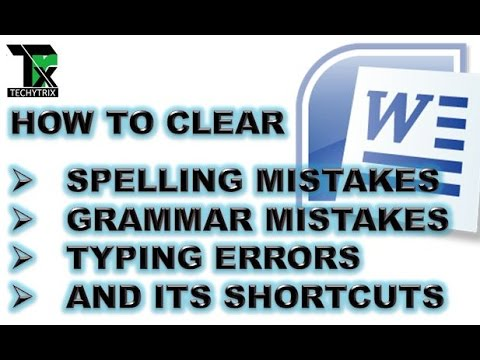 how to check spelling and grammar errors in microsoft word 2010