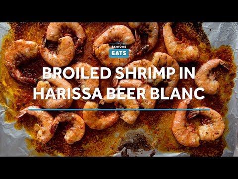 20-Minute Harissa Shrimp