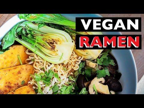 VEGAN REV - How to make VEGAN RAMEN | Best Vegan Noodle Recipe - EP 19