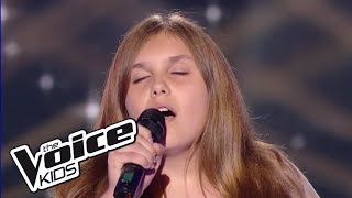 Cassidy  Amazing Grace Chant Gospel  The Voice Kids France 2017  Blind Audition