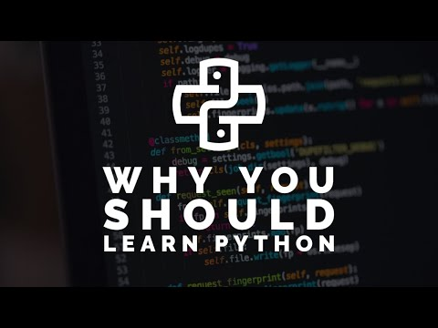 Why you should learn Python Programming