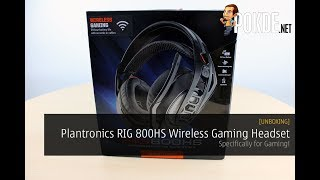 [UNBOXING] Plantronics RIG 800HS Wireless Gaming Headset