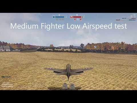 Heroes and Generals: Medium Planes Low Air Speed Test