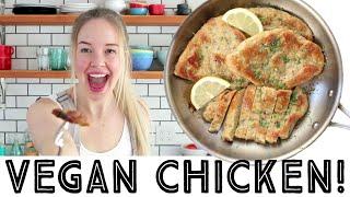 Download VEGAN CHICKEN! - Easy recipe from scratch - 8 ingredients Video