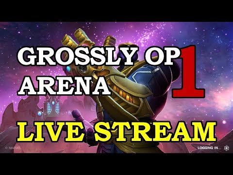 Winter Soldier Arena - Part 1 | Marvel Contest of Champions Live Stream