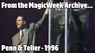 Penn and Teller - Magicians - A Royal Gala - March 1996 - MagicWeek.co.uk