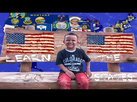 LEARN THE 50 STATES WITH TROY EASY AND FAST WAY TO LEARN THE 50 STATES WITH KIDS!