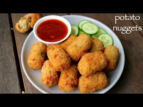 potato nuggets recipe | spicy potato nuggets | how to make potato snacks recipes