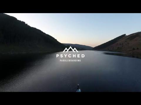 Paddling at dusk in Snowdonia | Psyched Paddleboarding