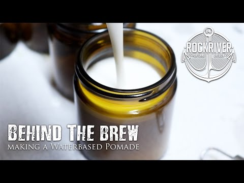 Making Hair Products l How Waterbased Pomade is Made l Behind the Brew: Unorthodox Waterbased Pomade