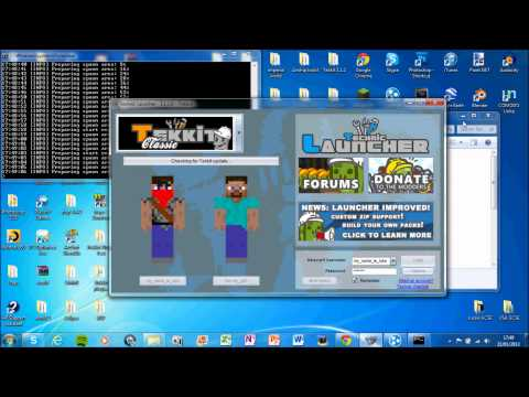 How to make a Tekkit 3.1.3 Server