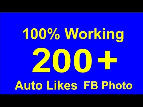 How to Auto like Facebook photo 2017 NEW Machine liker Android app
