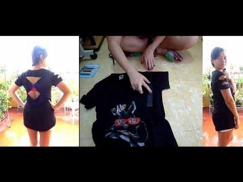 DIY: Upcycle Shirt (No Sew!)