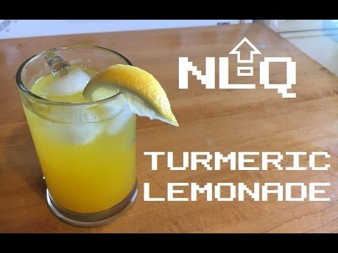 Next Level Quickie - Turmeric Lemonade