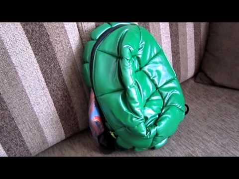 Unpacking Teenage Mutant Ninja Turtles Turtle Shell Backpack TMNT