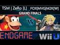 Endgame  GRAND FINALS - TSM | Zero [L] (Diddy Kong) vs FOX MVG | Mew2King [W] (Cloud)