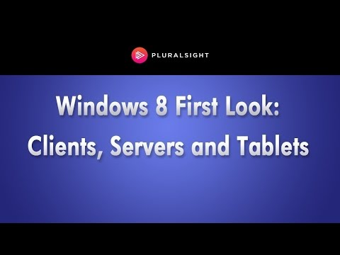 Windows 8 for Clients, Servers and Tablets