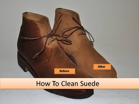 How To Clean Suede 4 Easy and Simple Steps - That Works for All