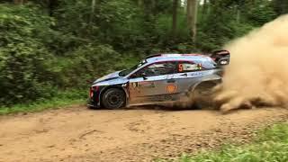 WRC Rally Australia 2017 Day 1 Highlights