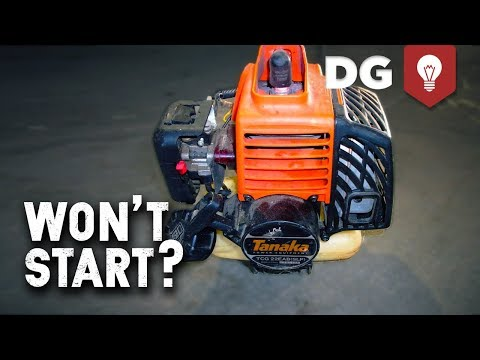 No Start in 2-Stroke Weed Eater or Chainsaw