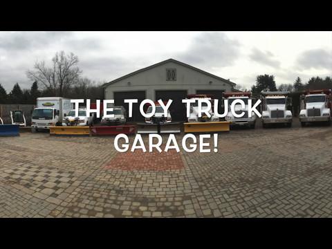 Toy Truck Garage Movie