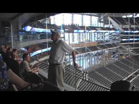 Dallas Cowboys Stadium Tour Pt.4 - Sweet Suites