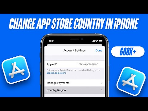 How to Change App Store Country/Region in iPhone or iPad!