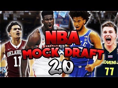 THE #1 PICK IS... | 2018 NBA Mock Draft 2.0