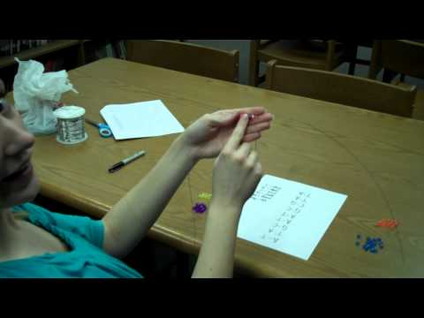 Making a DNA model