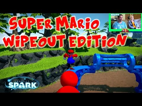 Super Mario Wipeout Edition   Project Spark : Community Games   Xbox One Gameplay