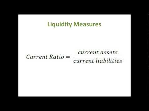 Financial Statement Analysis #2: Ratio Analysis - Liquidity (Short Term Solvency)