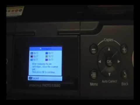 Epson RX580 RX595 RX680 CISS reset