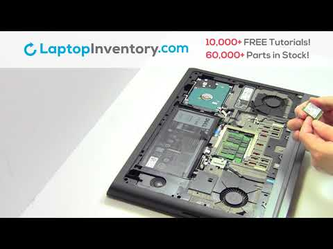 Dell Inspiron 7567 WiFi Replacement Repair- Wireless Card Laptop Install Guide, 7566 7778 P65F