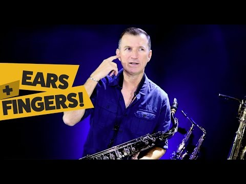 How to play saxophone by ear - better!