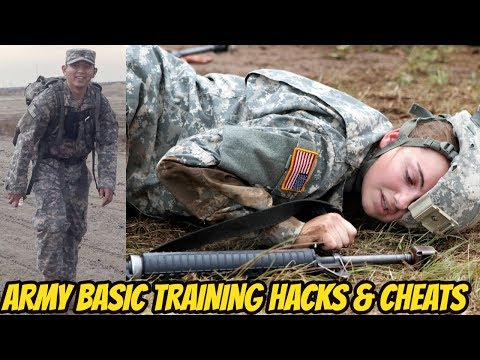 TOP 5 HACKS & CHEATS TO PASS U.S. ARMY BASIC TRAINING! **HOW TO PASS BASIC TRAINING**