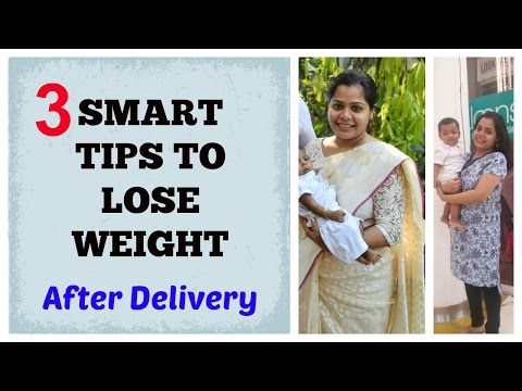 How to Lose Weight Fast After Delivery/C-Section Part-1 | Indian MOM