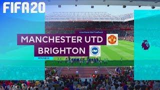 FIFA 20 - Manchester United vs. Brighton & Hove Albion @ Old Trafford