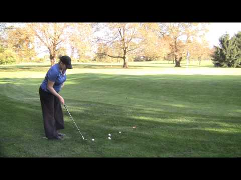 Chip with Sand Wedge or Lob Wedge