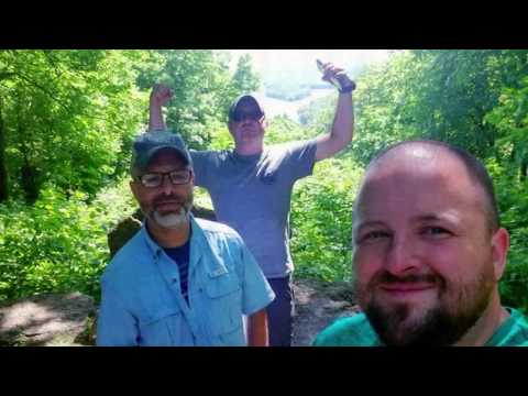 Sixth annual camp, kayak, fish Father's Day weekend