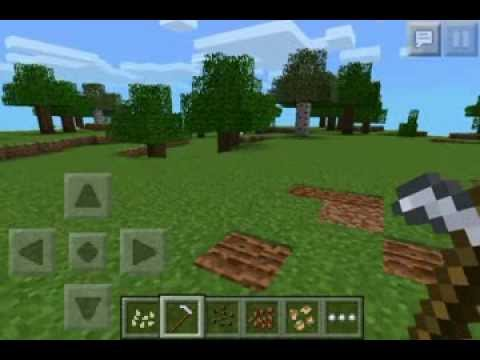 How to get Seeds in Minecraft PE 0.8.0