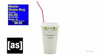 Master Shake Mug | As Seen on Adult Swim (Thursdays @ 8pm ET) | adult swim