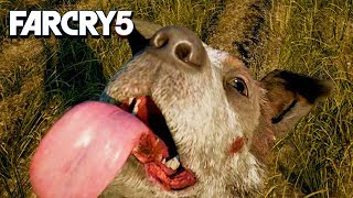 """THE COWS ARE DOING """"IT!"""" - Far Cry 5 Funny Moments!"""