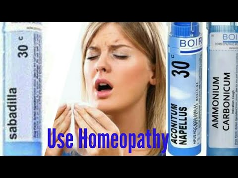 Homeopathic Treatment with homeopathic remedies for cold,cough,fever,sneezing and flu during winter.